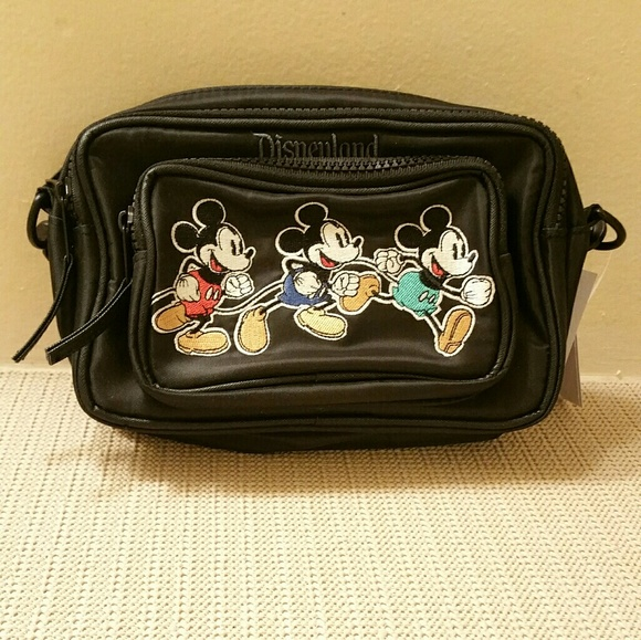 Disney Handbags - Disney Hip Pack Bag - Timeless Mickey Mouse
